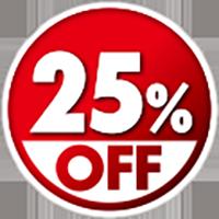 25%OFF