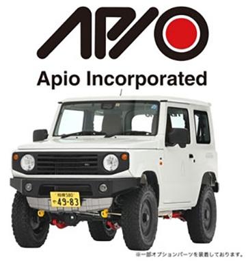 APIOロゴデモカー