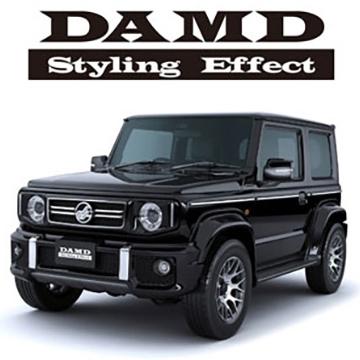 DAMDロゴデモカー